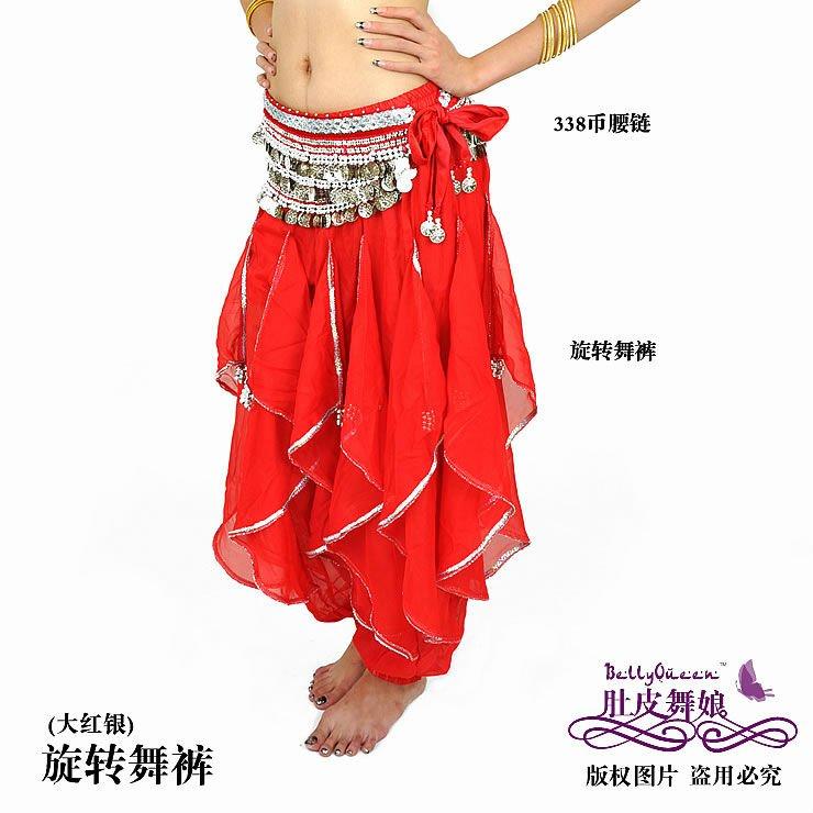 Сшить шаровары для восточных танцев 8