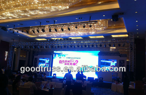 professional stage truss and rigging equipment