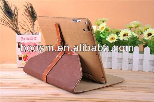 Book Leather Case for iPad Mini Folding Cover Fashion Design