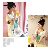 Женская футболка 2012 Summer Casual Batwing Sleeve tshirt lady Blouses tank top Women's Off Shoulder T-Shirt + Vest 1 set SWS093