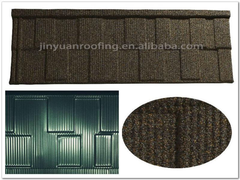 Low maintenance interlocking steel metal roofing shingles