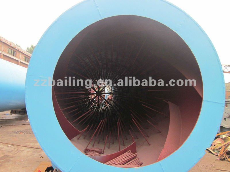 High quality silica sand rotary dryer machine