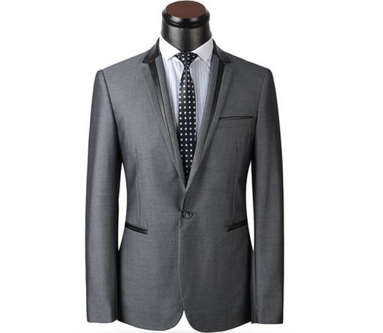 новые моды Корейский высокое качество мужских костюмов