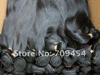 Бразильское волос Девы BH шелковистая Staight