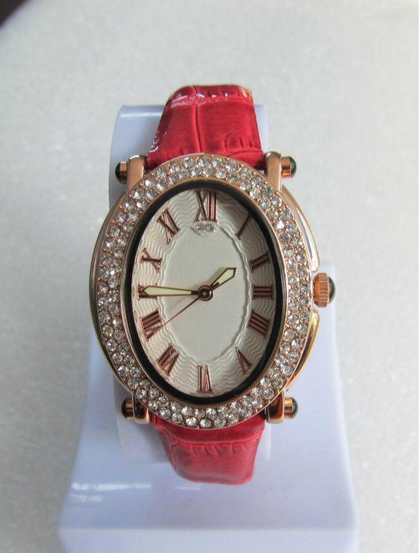 2014 brilhante jóias lady presente de natal moda relógios