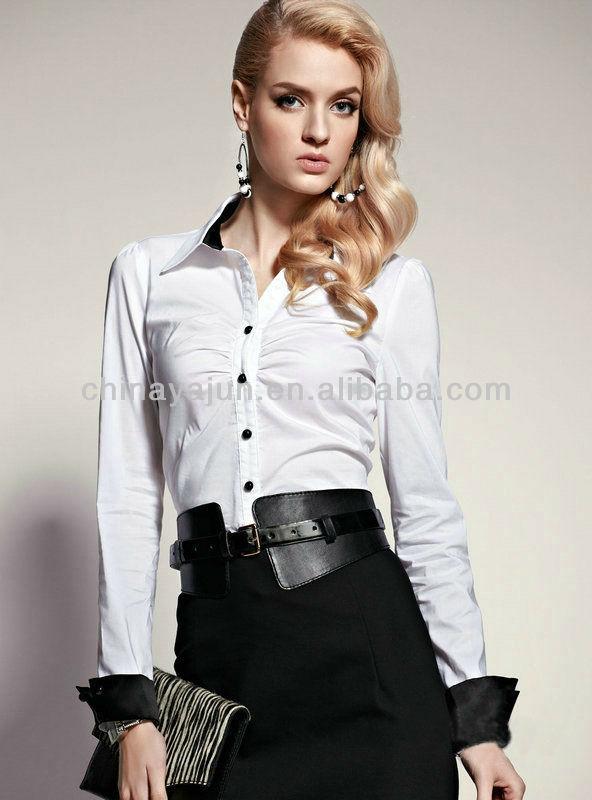 Blouse women office uniform