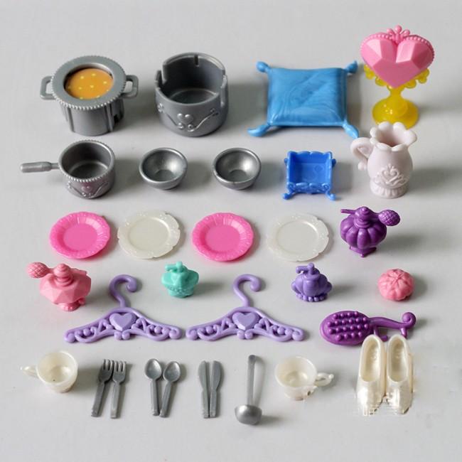 28gadgets/slot 1/6 mini eating equipment for doll home doll equipment for barbie doll