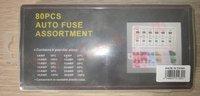80PCS/LOT 5,10,15,20,25,30A Auto fuse Car fuse set  ROHS FREE SHIPPING
