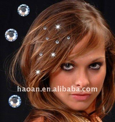 2011 новый бренд многоцветным волос bling