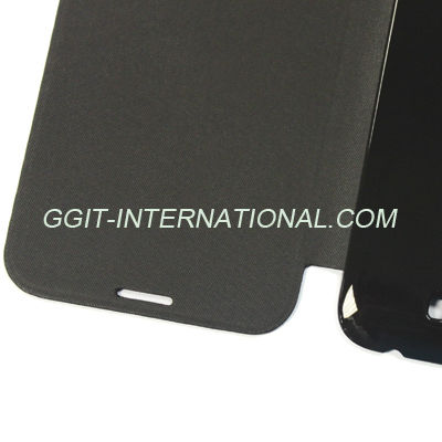 Simple Design Leather PU Flip Case For Samsung Note2 N7018