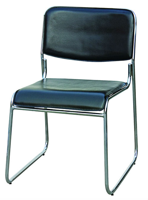 Y-1834 Simple black reception chair/living chair