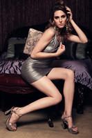 Кошелек Fashion snakeskin women clutch wallet, Europe stylish envelope clutch handbag with shoulder chain
