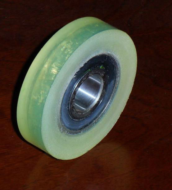 Pu Solid Wheel with Abrasion Resistance