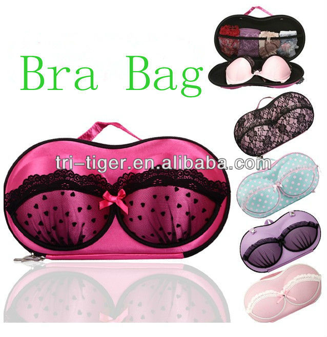 Light weight EVA Travel bra bag,bra storage box