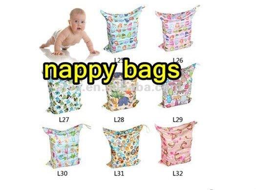 Fashion Printed Cartoon ALVA Cloth Sleepy Baby Diapers
