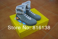 Мужские кроссовки sport shoes 2012 Men's Basketball Shoes Mag limited edition Famous Trainers Mag Back To The Future