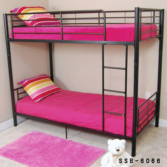 School kids children student dormitory metal bunk beds for Kids double bed