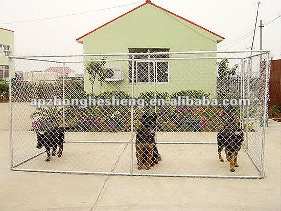 heavy duty galvanized dog kennel