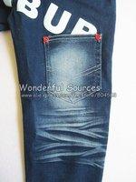 5 шт/много, мальчики дети джинсы брюки детей брюки прямые корейски Детские джинсы