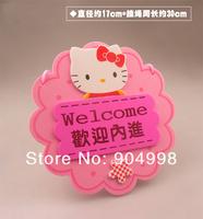 Дверная табличка Hello Kitty Welcome card store cards
