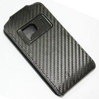 leather case for Nokia N8 Carbon Fiber