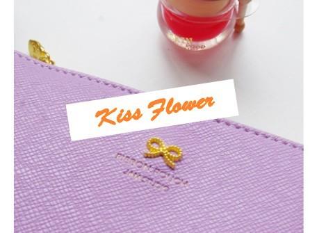 Korea Style  Sweet Bow Design Zipper Cosmetic Bag 5 Color  Make Up
