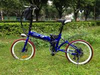 20-дюймовый складных велосипедов прохладный хитрость Электрический велосипед преобразования 36В специальное предложение