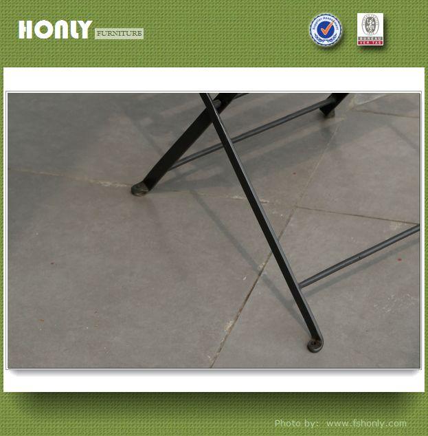 Metal garden furniture wrought iron outdoor furniture folding chair