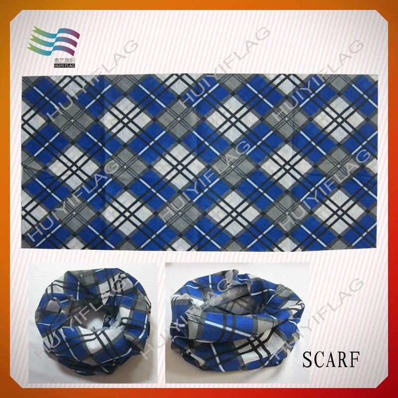 cheap wholesale polyester bandana with custom logo printed