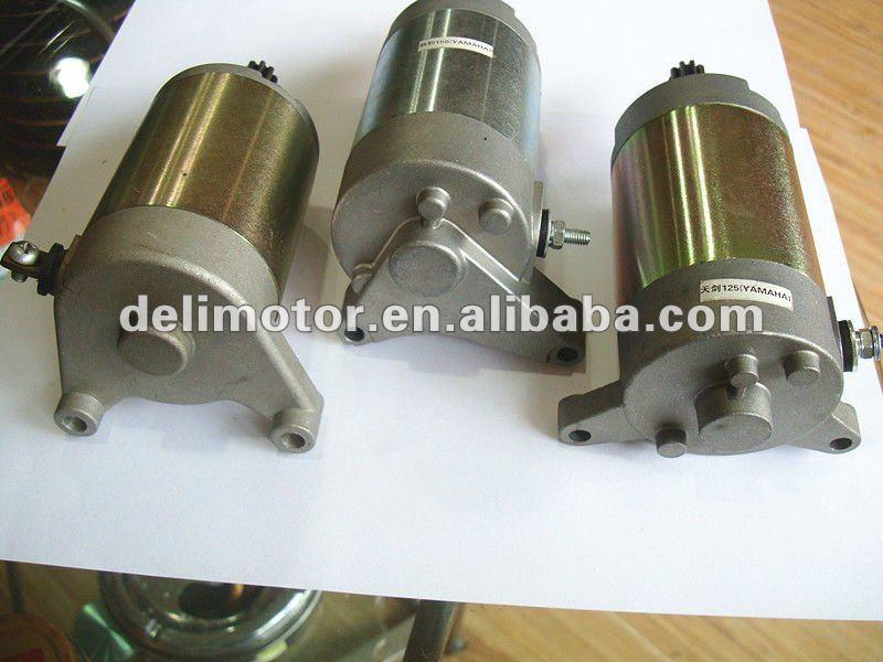 Motorcycle starter motor
