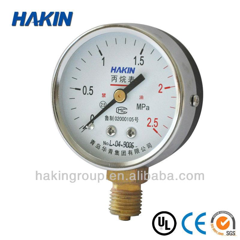 dimethylmethane ضغط متر مع شهادة ce