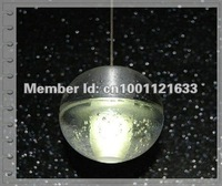 "36 LIGHTS  BALL ""METEOR SHOWER"" CHANDELIER WITH POLISHED CHROME STAINLESS BASE (BULBS INCLUDED)"