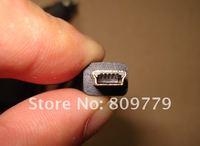 автомобиль зарядное устройство мини-usb 5p 12В / 24В в 5В 1.5A для gps, высокое качество usb автомобильное зарядное устройство