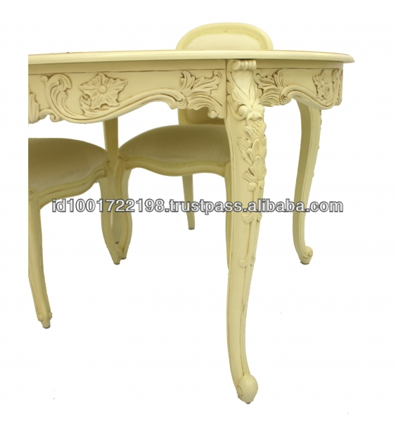 French Provincial Round Dining Room Table And 4 Chairs  : 971247976299 from alibaba.com size 563 x 600 jpeg 147kB