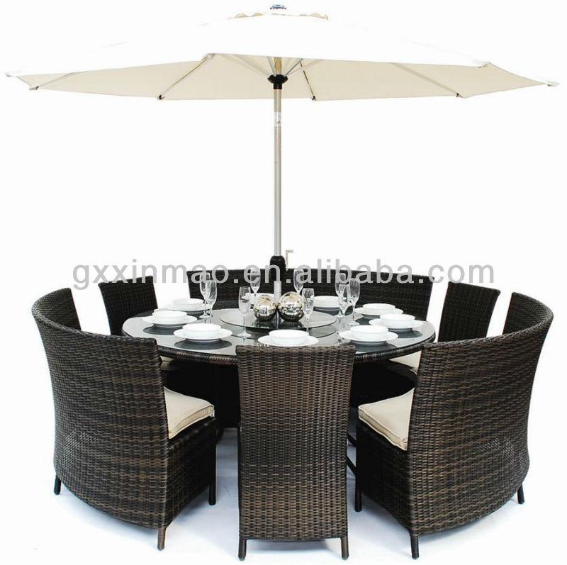 seater garden round dining table set buy 8 seater round garden set