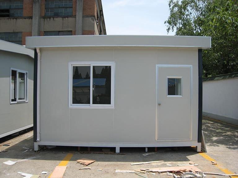 Moderna casa prefabricada de cemento de la casa - Casa prefabricada moderna ...