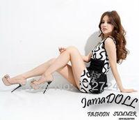 Туфли на высоком каблуке Sexy Women Beige PU Leather Platform Pumps Bowknot Stiletto High Heels Shoes