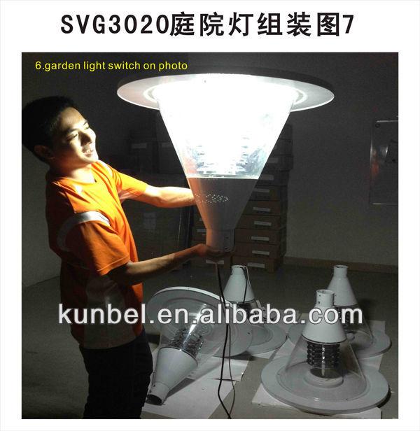Superbright LED Garden Solar Light system