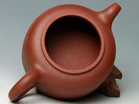 A-Class YIXING purple clay pure handwork teapot,180ML., free shipping,LM1235