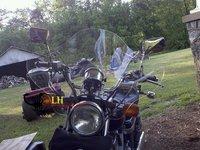 Ветровое стекло для мотоцикла Lh Vstar 250 Virago XV 250 29 f