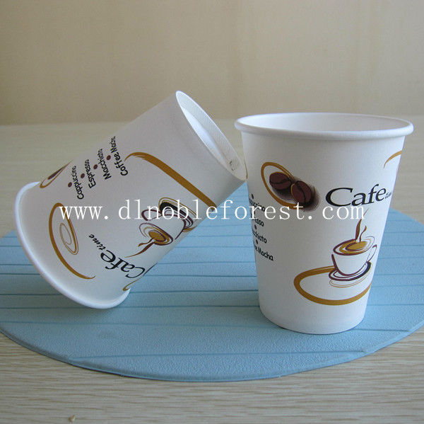 Best Seller! 12oz Disposable Paper Hot Cup with 6 Colors