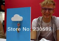 2 шт прохладно облако формы магнитный держатель ключа / облако ключевой держатель creative keyholder Сингапур пост