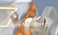 Серьги-гвоздики 20pairs Rose Flower Fashion jewelery Rose Crystal Earring Gold crystal Zircon Earrings