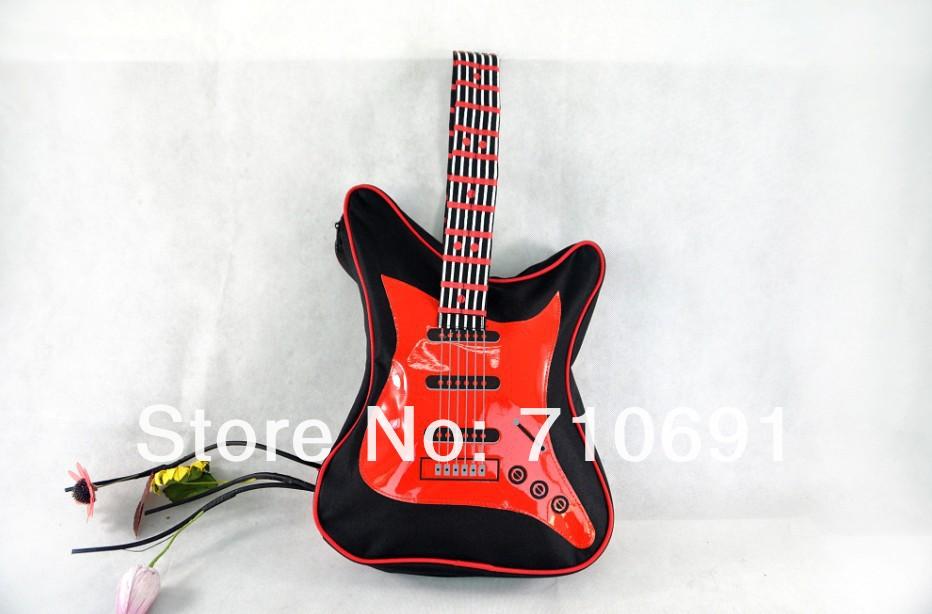 Бесплатная доставка 8 PC/партий 3 гитары сумки школы гитары размера середины цветов 38x26 см занимается альпинизмом...