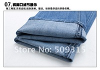 Мужские джинсы 2013 jeans, denim pants, men's trousers, cotton garment, casual pants, men's jeans