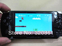 "Factory supply 4.3"" Screen real 8GB Memory MP5 Player Handheld Video Games Console with high quality Low price DHL Free shipping"