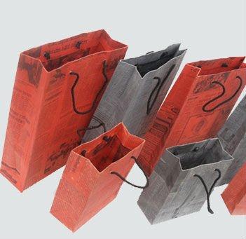2011 Kraft Mini Paper Bags Handbags Printing