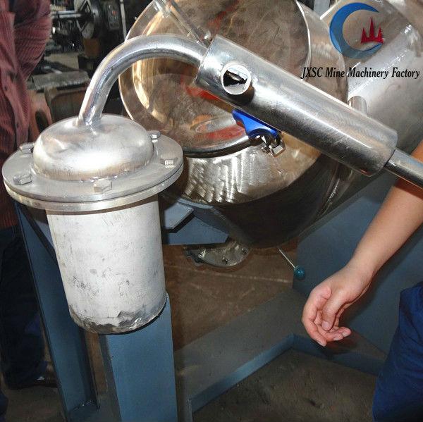 Small Mercury Amalgam Distill Retort,Gold Refining Machine