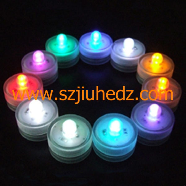 Round led waterproof light