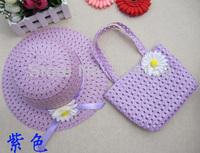 Шапка для девочек Girl's Summer Sunhat Children Beach Caps Girl Flower Sunbonnet Suit Toddler Straw Hat Topee 1pcs m054
